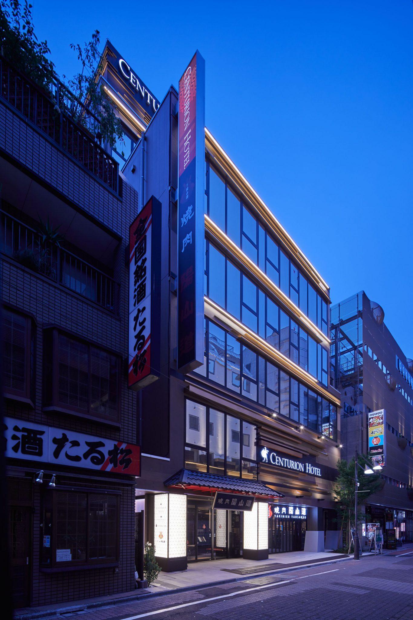 センチュリオンホテル&スパ上野駅前 2017年7月新築グランドオープン!